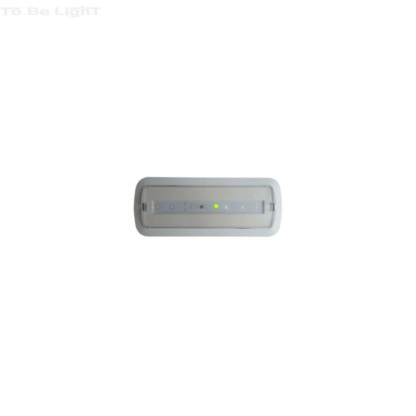 balise de secours led 3w sur batterie option eclairage permanent. Black Bedroom Furniture Sets. Home Design Ideas