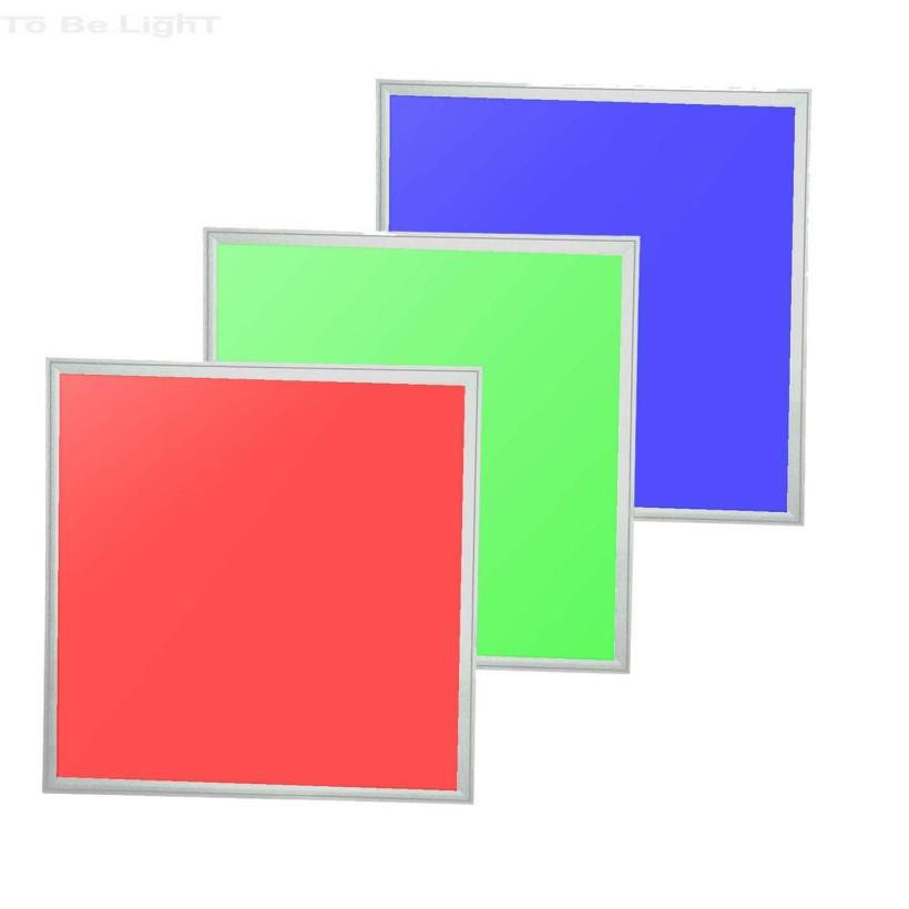 dalle led multicolore avec contr leur et t l commande 60x60. Black Bedroom Furniture Sets. Home Design Ideas
