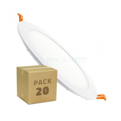 Pack 20 x Dalle LED Encastrable 18W / 22,5 CM