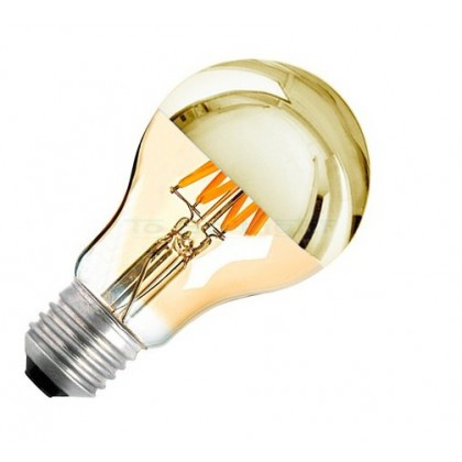 Ampoule LED E27 Variable Filament 6w GOLD REFLECT