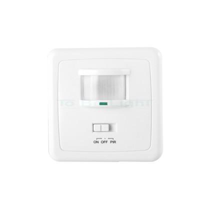 Détecteur de Présence Mural Encastrable pour LED
