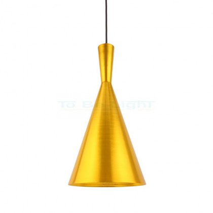 Lampe suspendue Industrielle Gamma Or