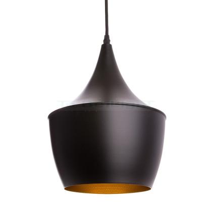 Lampe suspendue Industrielle Phi Noir