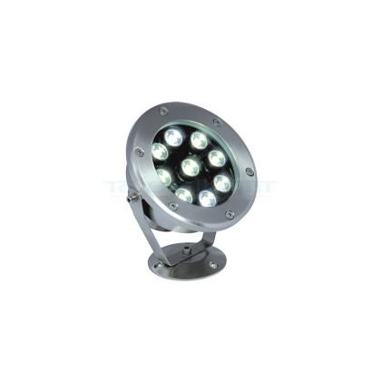Spot LED Extérieur RGB 9W + Télécommande RF