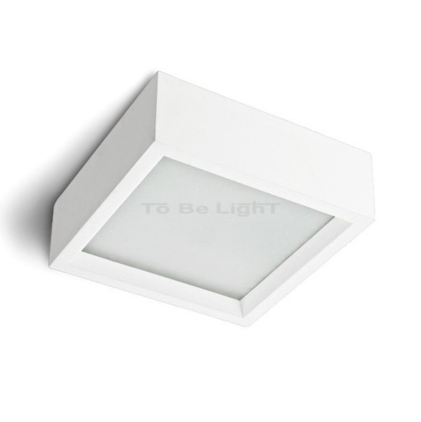 applique plafond led turquesa 24w 45x45x10cm lampe led plafond. Black Bedroom Furniture Sets. Home Design Ideas