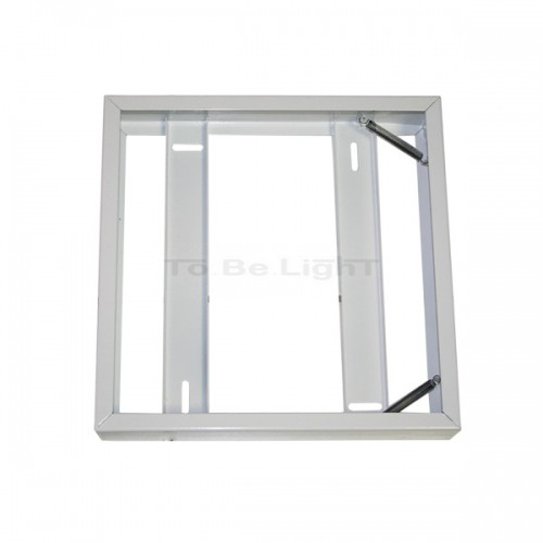 cadre de fixation dalle led 600 x 600 mur ou plafond avec