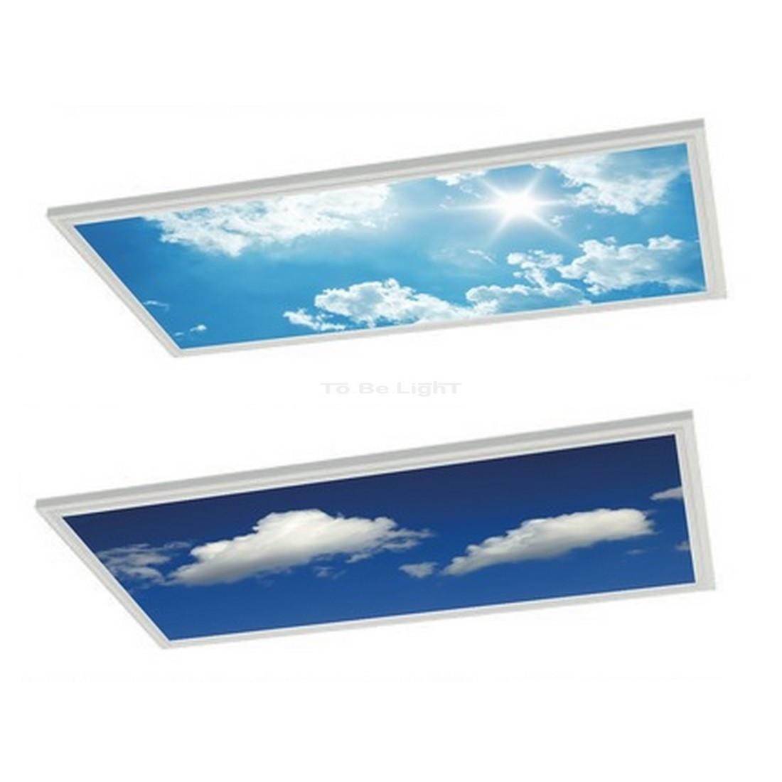 dalle led oasis ciel mirage sky 300x1200 personnalisable. Black Bedroom Furniture Sets. Home Design Ideas