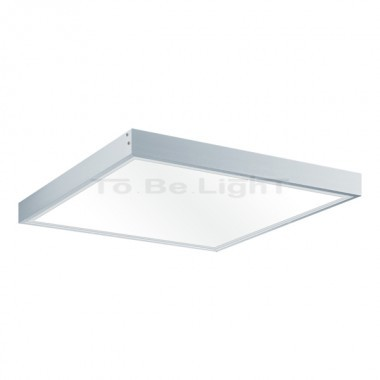 Cadre de fixation dalle led 600 x 600 mur ou plafond for Dalle led pour garage