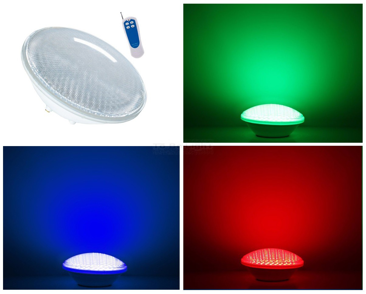 spot led piscine tanche ip68 option multicolore 18 ou 35w