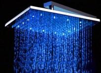 DOuche Pluie LED