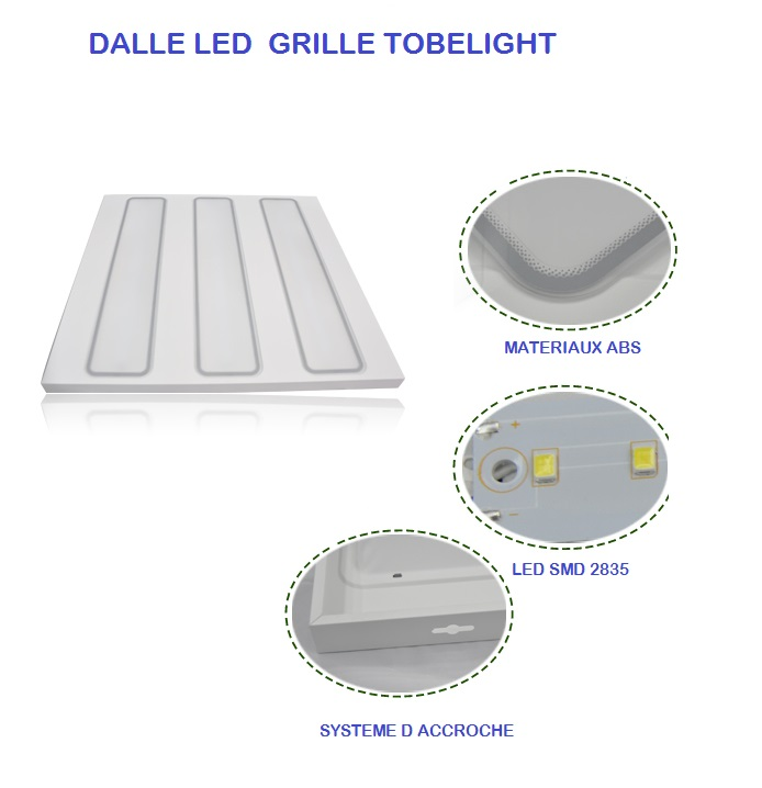 Dalle LED GRILLE TOBELIGHT