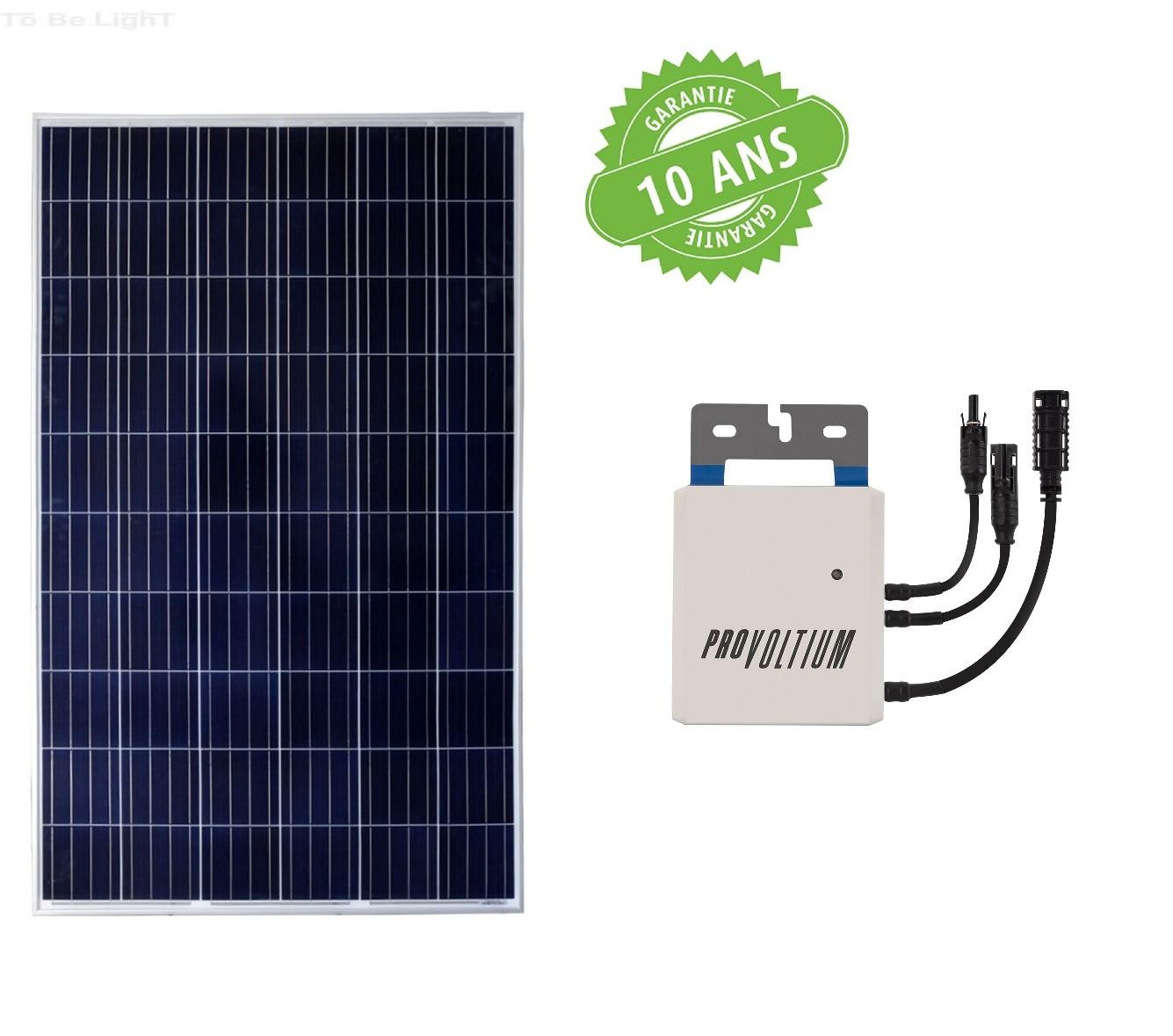 kit panneau solaire photovolta que polycristallin 275w. Black Bedroom Furniture Sets. Home Design Ideas
