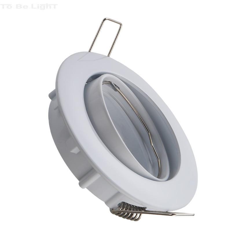 anneau orientable encastrable pour ampoule spot led gu10 mr16 ip20. Black Bedroom Furniture Sets. Home Design Ideas