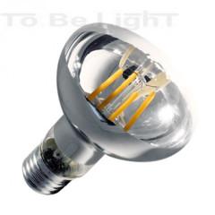 Ampoule LED E27 Filament R80 Variable 6W