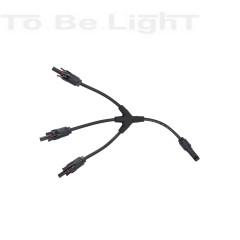 Connecteur Flexible MC4 3/1 Câble 4-6mm2