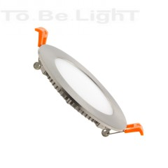 DownLight LED Encastrable Ronde 6W Argenté