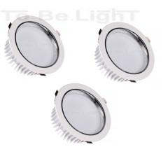 Pack 3 x Downlight LED SAMSUNG 30W - 25CM - 3600 lm 4500°K