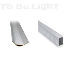Profilé Allu 1m pour Ruban LED 220V