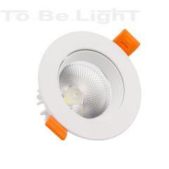 Spot LED 12W  Orientable 960 lm Blanc