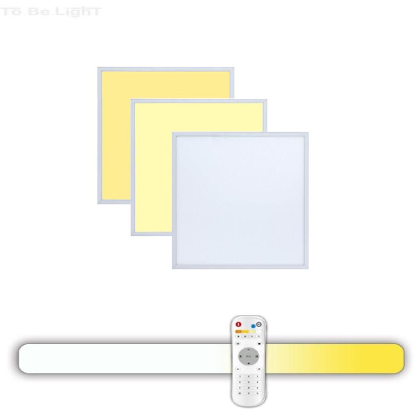 Dalle LED 30x30  3en1 + Télécommande Radio