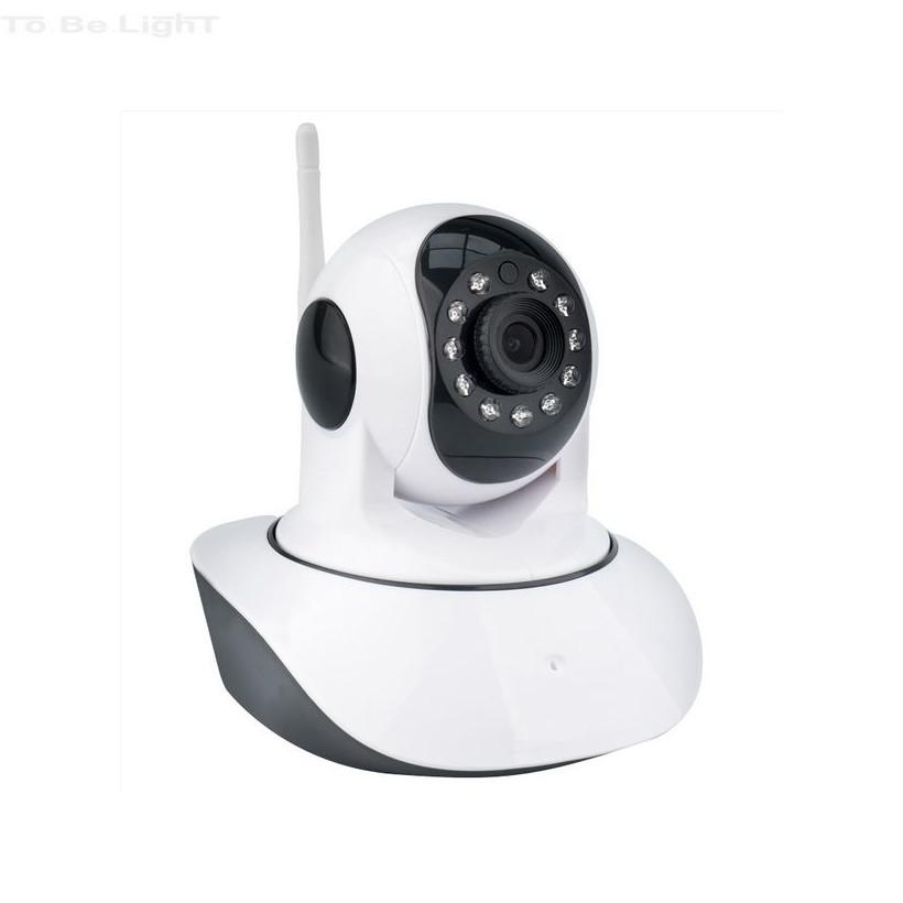 Caméra IP Wifi avec Lecteur pour Carte SD