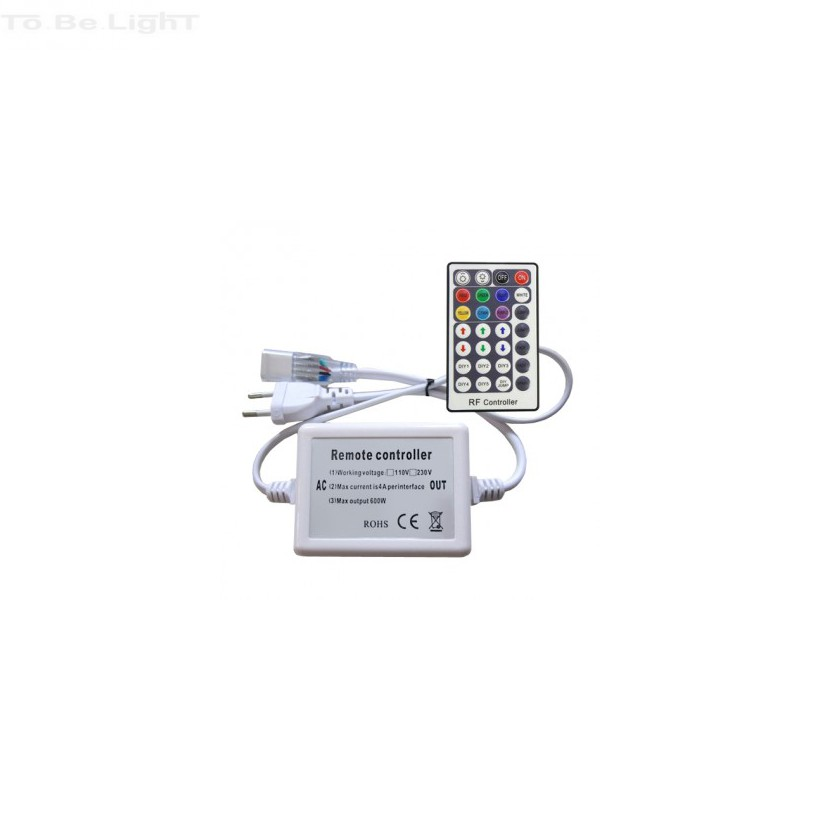 Télécommande RADIO  Ruban LED RVB 220V