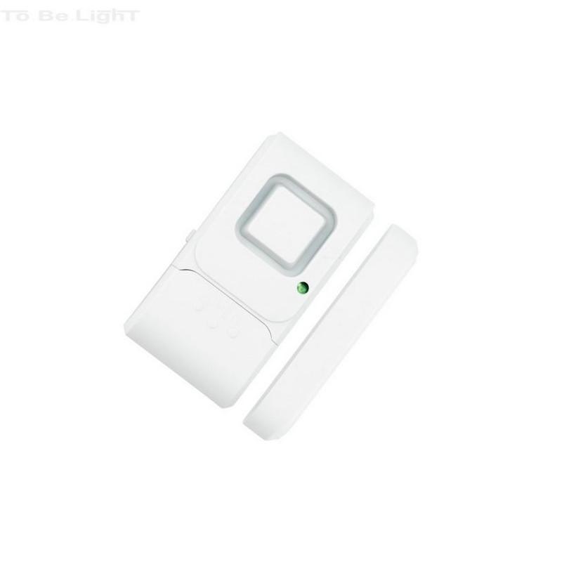 Détecteur Magnétique Carré avec Alarme Spécial pour Portes et Fenêtres