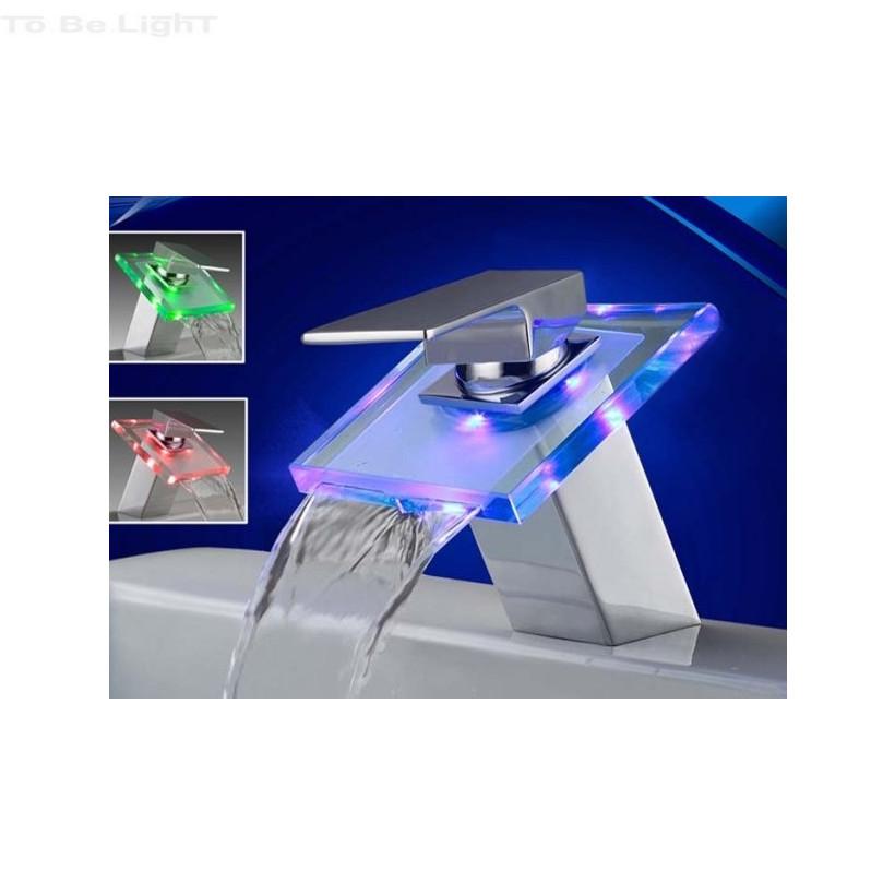 ROBINET LED 3 COULEURS CONTROLE DE T°