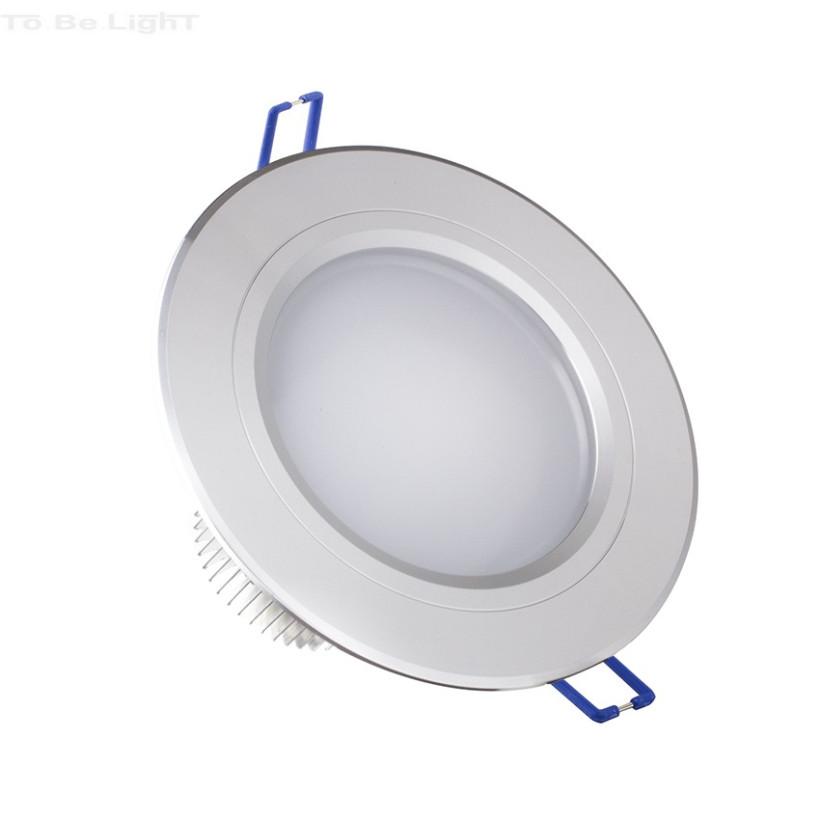 Downlight LED 5x1w - 500 lm