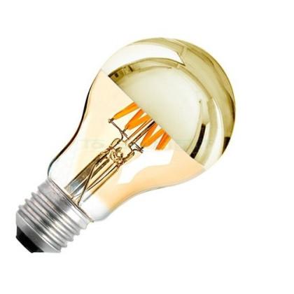 Ampoule LED E27 Variable Filament 6w GOLD REFLECT