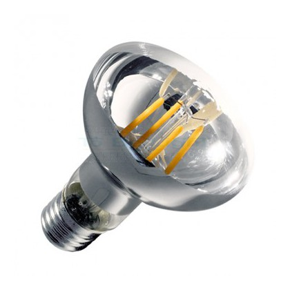 Ampoule LED E27 Filament R80 Variable 6W