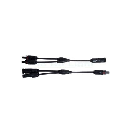 Connecteur Flexible MC4 2/1 Câble 4-6mm2