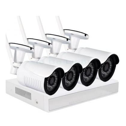 Kit de 4 caméra IP & enregistreur WIFI NVR