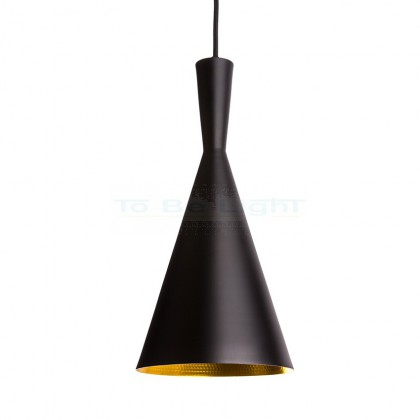 Lampe suspendue Industrielle Gamma Noir