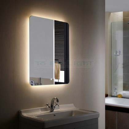 Miroir Décoratif LED CCT Sélectionnable Mykonos 45/55W