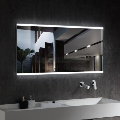 Miroir Décoratif LED Venise avec Détecteur de Proximité 100W