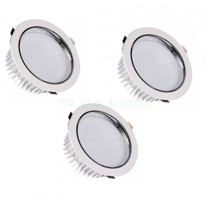 Pack 3 x Downlight LED SAMSUNG 30W - 25CM - 3600 lm 4500°K