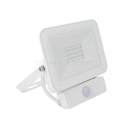 Projecteur LED + Détecteur de Mouvement PIR 20W