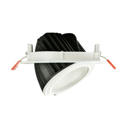 Projecteur LED Orientable Encastrable Rond 60W