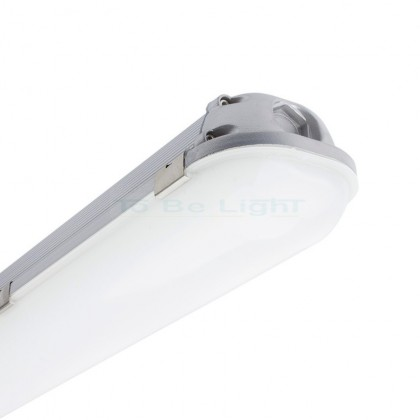 Réglette LED IP65 Allu 1200mm 40W