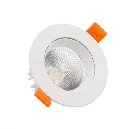 Spot LED 7W  Orientable 560 LM Blanc
