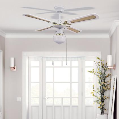 Ventilateur de Plafond Havoc Blanc