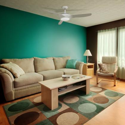 Ventilateur de Plafond LED Élégant PRO Silencieux avec CCT Sélectionnable