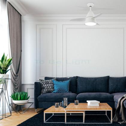 Ventilateur de Plafond LED Industriel avec CCT Sélectionnable 15W Blanc