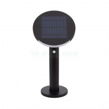 Borne LED Solaire IP65 Suez + Détecteur Mouvement