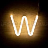 Lettre W Néon LED