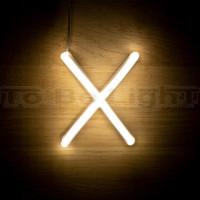 Lettre X Néon LED
