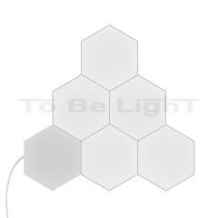 Kit Panneau LED Hexagonal 18x18cm 4800lm