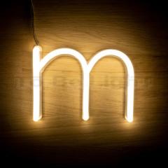 Lettre M Néon LED