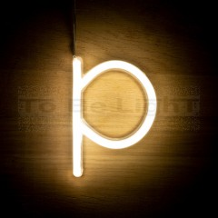 Lettre P Néon LED